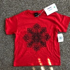 Obey stop the violence tee